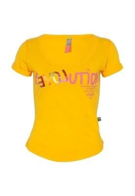 Blusa Slim Love Amarela - Coca Cola Clothing
