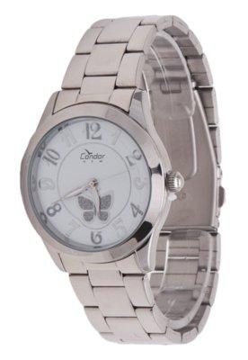 Relógio Dumont KX25747B Prata - Condor