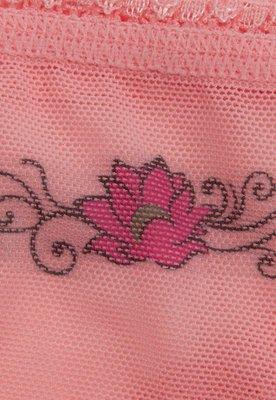Kit 2 Calcinhas Panty Lotus Tatoo Rosa - Liz In.Joy