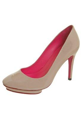 Sapato Scarpin Verniz Nude - Zeferino