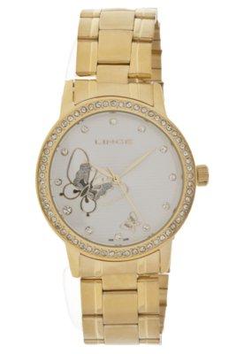Relógio Lince LRG4116L S1KX Dourado