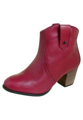 Ankle Boot  Cravo e Canela Vegetal Natural Vermelha - Cravo ...