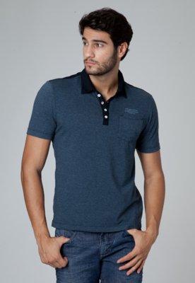 Camisa Polo VR Menswear Bolso Azul