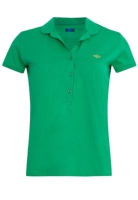Camisa Polo Triton Justa Peter Verde