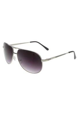 Óculos de Sol Recortes Prata - FiveBlu