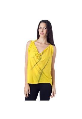 Blusa Penas Amarela - Espaço Fashion