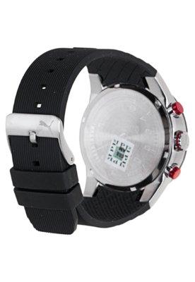 Relógio Puma Fast Track - L Preto/Branco