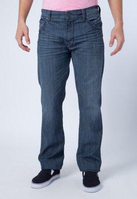 Calça Jeans Reta Ellus Pixies Azul