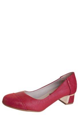 Sapato Scarpin Anna Flynn Container Vermelho