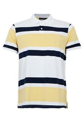 Camisa Polo FiveBlu Basic Branca