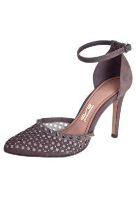 Sapato Scarpin Santa Lolla Semi Aberto Vazado Pulseira Marro...