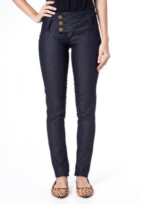 Calça Jeans Sawary Skinny Amac Azul