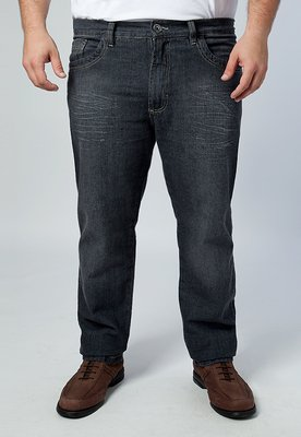 Calça Jeans Reta Unic Preta - Pier Nine