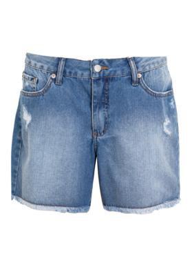 Bermuda Jeans Mandi Cruz Azul