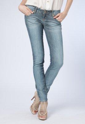 Calça Jeans Coca Cola Clothing Skinny Elástica Skin Metais...