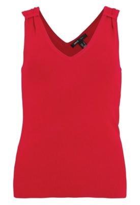 Blusa MNG Barcelona Bonita Vermelha