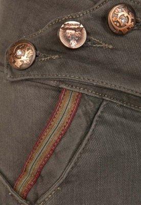 Calça Jeans Sawary Infantil Skinny Party Cinza