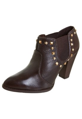 Ankle Boot SPikes Marrom - Lilly's Closet