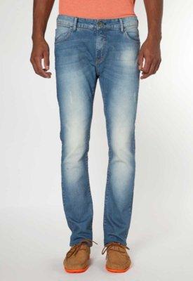 Calça Jeans Forum Gilmar Índigo Bord Azul
