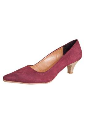 Sapato Scarpin Lady Vinho - FiveBlu