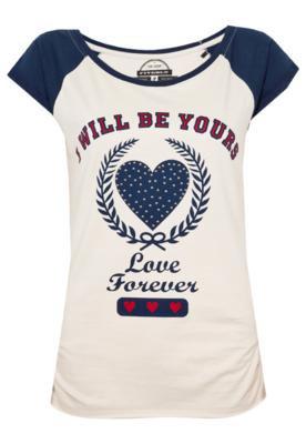 Blusa Love Bege - FiveBlu