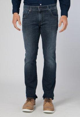 Calça Jeans Reta Ellus Filigrana Azul