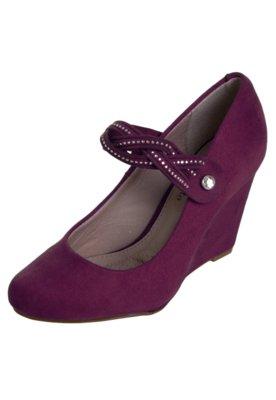 Sapato Scarpin Beira Rio Princess Vinho