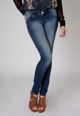 Calça Jeans Colcci Pespontos Azul