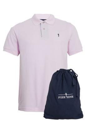 Camisa Polo Pier Nine Bloco Rosa