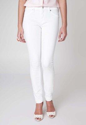 Calça Jeans MNG Barcelona Slim Fit Paty Branca