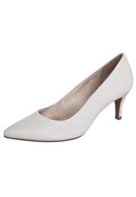 Sapato Scarpin Azaleia Salto Médio Bico Fino Branco