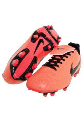 Chuteira Campo Nike Egoli FG EMB Bright Laranja