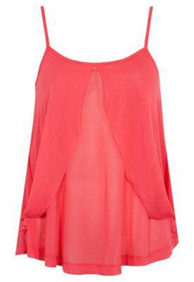 Blusa Loose Leve Recorte Rosa - Coca Cola Clothing