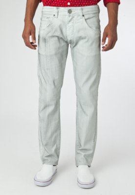 Calça Jeans Coca Cola Clothing Reta Cole Cinza