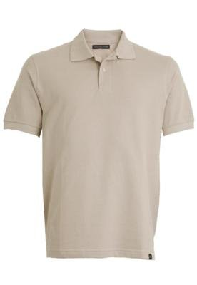 Camisa Polo Lucca Salvatore City Bege