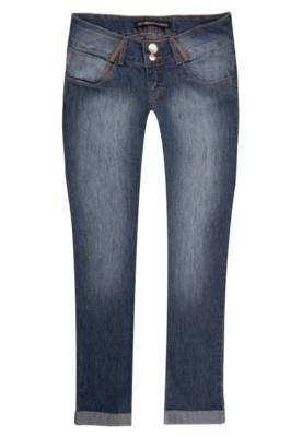 Calça Jeans Miss Sirena Original Skinny Azul