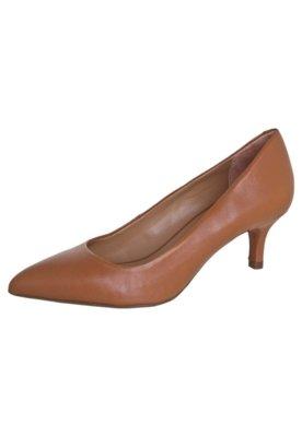 Sapato Scarpin Tabita Unic Caramelo