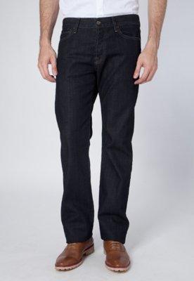 Calça Jeans 7 for all Mankind Reta Standard Preta
