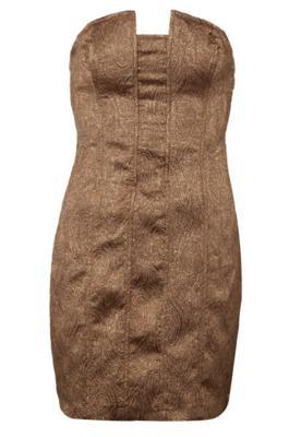 Vestido Colcci Small Luxo Bege