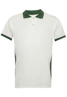 Camisa Polo [R] One Stripes Camuflada Bege - [R]ONE by FiveB...