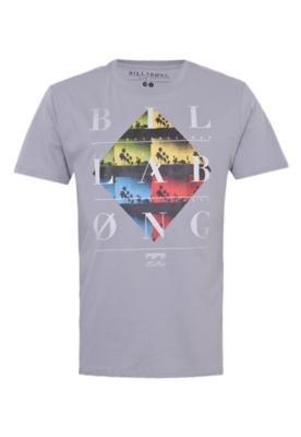 Camiseta Billabong Shutter Cinza