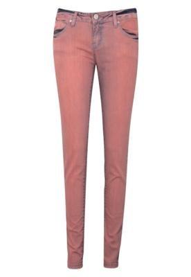 Calça Jeans Iódice Denim Skinny Oregon Laranja