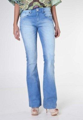 Calça Jeans Cavalera Flare Star Azul