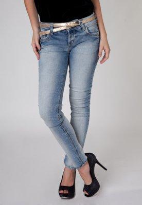 Calça Jeans Skinny Edna Azul - Colcci