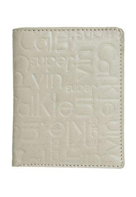 Carteira Calvin Klein Monograma Cinza
