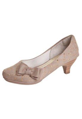 Sapato Scarpin Glam Nude - Klassipé