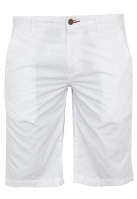 Bermuda Sarja Mandi Chino Paper Branca