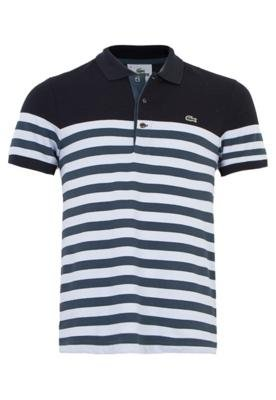Camisa Polo Lacoste Classic Azul