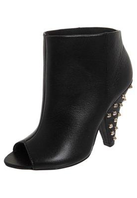 Ankle Boot Salto SPikes Preta - Lilly's Closet