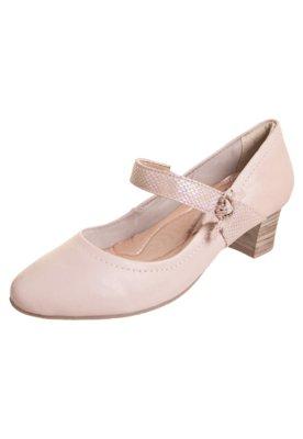 Sapato Scarpin Comfortflex Salto Médio Mary Jane Rosa